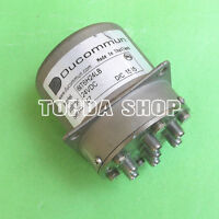 1PC DUCOMMUN 6lT6H24LB 24V dc-18ghz sp6t SMA RF Microwave Coaxial Switch #ZH