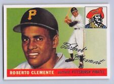 "1955  ROBERTO CLEMENTE - Topps ""ROOKIE REPRINT"" Baseball Card # 164 - PIRATES"