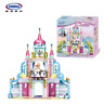 Xingbao Bausteine Baukästen Mädchen Schloss Modell Spielzeug Toys Anime 540PCS