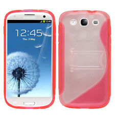 Accessorie Coque ROSE Gel Support Video Pour Samsung Galaxy S3 i9300/ i9305 Neo