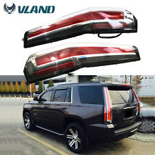 Vland LED TAIL LIGHTS For 2007-2014 Chevy Suburban Tahoe GMC Yukon Rear Lamps