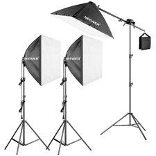 600W Studio Continuous Light Kit with 3pcs 60*60cm Softbox Lighting Kit