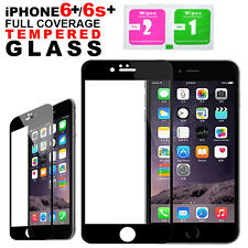 Full 3D Curved Cover Tempered Glass Screen Protector For Apple iPhone 6 6S Plus