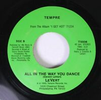 Hear! Modern Soul Boogie 45 Lavert - All In The Way You Dance / Dancing With You