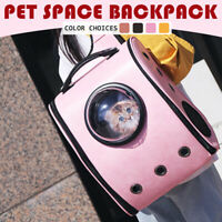 Pet Space Backpack Carrier Cat Dog Puppy Travel Astronaut Portable Cage Bag