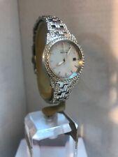Citizen Ladies Eco Drive Swarovski crystal S.Steel Bracelet Watch EW1220-55D