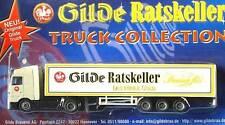 HO 1:87 GILDE GERMAN BEER TRUCK MB ACTROS SEMI TRAILER 2000