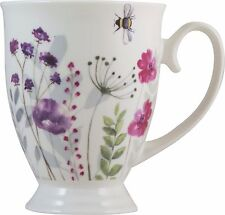 'In Bloom' Fine China Footed Mug Tea/Coffee with Gift Tag