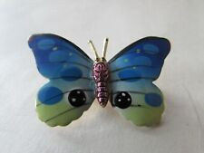 """butterfly about 1"""" wide Vintage 1970's pin broach brooch"""