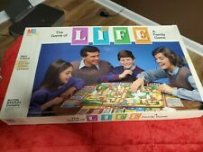 "MILTON BRADLEY ""THE GAME OF LIFE"" BOARD GAME 1985 pre-owned"