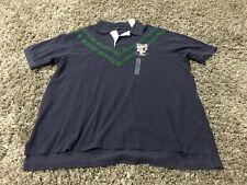 Polo Ralph Lauren big dragon lion crest shield 1967 #8 rugby shirt vintage XLT