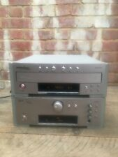 Fine Arts by Grundig M100-A Amplifier & M100-CDC 3 Disc CD Changer Player Silver