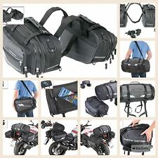 System Set 3 Bags Saddle bags Side Cordura Touring Enduro BMW Yamaha Suzuki