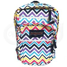 Jansport Big Student Backpack BS Arrow Saucy Chevron Stripe Large School Bag New