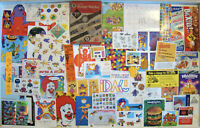 McDonald's Vintage Lot of Happy Meal Premiums Giveaways Treat of the Week B