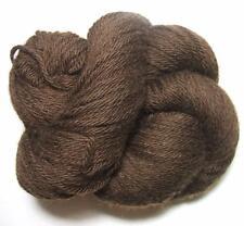 100% Tibetan Yak 48 Down Chocolate Brown Natural Worsted Yarn 100 gr Skein SOFT