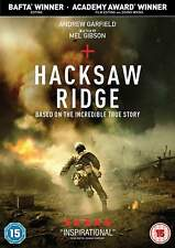 HACKSAW RIDGE - DVD - ANDREW GARFIELD WAR ACTION - BAFTA WINNER FOREIGN CASE