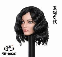 1/6 COW PEN Toys Polaris Emma Female Head Sculpt Black Short Hair NB-002C