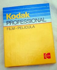 Kodak Ektachrome 200 4x5 slide film Box of 10 sheets Expiry date: 06/1989 FROZEN