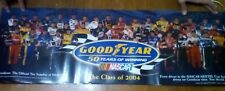 2004 NASCAR Goodyear Nextel, class photo poster, All drivers, collectable
