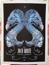 Jack White Stripes Poster 2012 Melbourne Signed & Numbered #/205 Todd Slater