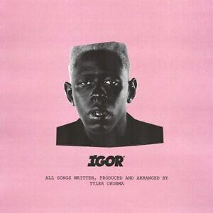 "Tyler The Creator Igor Poster Music Album Cover Art Silk Print 24x24"" 32x32"""