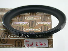 Original Nikon UR-1 Adapterring Adapter Filter 72mm auf on Lens 62mm Japan (6)