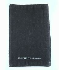 David Yurman Black Polishing Cloth Jewelry Earring Ring Cuff Albion Starburst