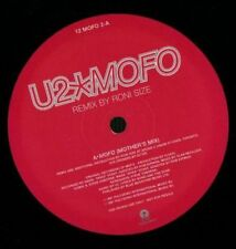 """U2 (12"""") Vinilo Mofo-isla - 12 Mofo-UK-1997-G/Ex -"""