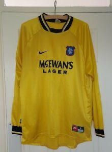 Glasgow Rangers Nike Jersey Goalkeeper Shirt 1997-98 Size L