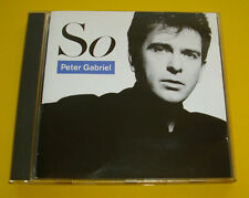 """CD """" PETER GABRIEL - SO """" 9 SONGS (DON'T GIVE UP)"""