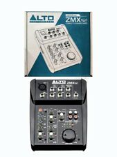 ALTO ZMX52 ZEPHYR Professional 5 Channel 2-Bus Compact Music PA Mixer