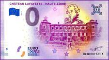 UE QE-1 / CHATEAU LAFAYETTE / BILLET SOUVENIR 0 € / 0 € BANKNOTE 2019-1