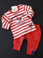 Dirkje 2tlg LA-Shirt Jogginghose Hose Pumphose TIGER Rot Weiß Gr. 62  3m NeU