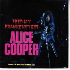 ALICE COOPER  Feed My Frankenstein PICTURE SLEEVE WAYNE'S WORLD 45  record NEW