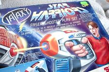 STAR WARRIORS FASER SHOOTER PLAY SET (GALAXY, INFRARED, SIMBA). BRAND NEW, OS!