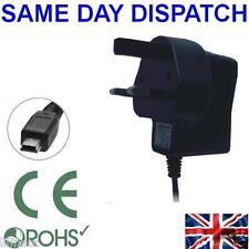 Uk mains wall plug charger for GARMIN Nuvi Sat Nav 1270 1290 1300 1310 1340 1350