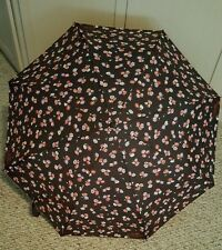 NWT COACH Large Floral Print Umbrella with Case
