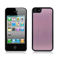 iPhone 5 5S SE METAL Aluminum HARD Protector Case Snap On Phone Cover Light Pink