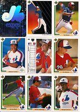 1991 UD Upper Deck Montreal Expos Master Team Set w/ Logo Hologram (35)