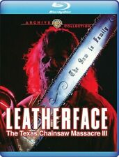 Leatherface: The Texas Chainsaw Massacre 3 Iii 1990 (Blu-ray) Kate Hodge - New!