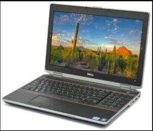 Dell Latitude E6520 15.6in. FULL SIZE Corporate Laptop i5