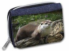 River Otter Girls/Ladies Denim Purse Wallet Christmas Gift Idea, AO-2JW