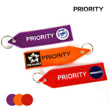 STAR ALLIANCE Logo Key Chain Priority Key Ring Gift for Flight Crew 4 Colors