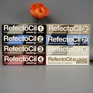 RefectoCil Professional EYELASH EYEBROW TINT Dye Henna All Colors -CHOOSE COLOR-