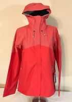 North Face Womens MEDIUM Fuseform Mission Jacket -Tomato Red - NWT $199