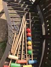 Croquet full set. For children not adults.