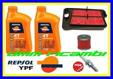 Kit Tagliando SUZUKI BURGMAN 400 13 Filtro Olio Aria Candela NGK REPSOL 2013