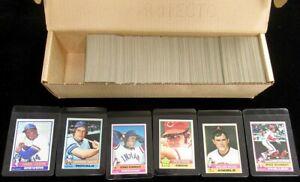 1976 Topps Baseball Complete Set 660 Cards Rose Ryan Aaron Brett NMT Nice 74492