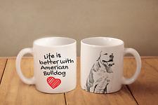 American Bulldogge - Keramik Becher DE